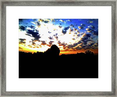 The Gift Of A New Day Framed Print
