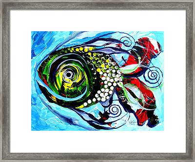 The Gift Of Inner Beauty Framed Print by J Vincent Scarpace