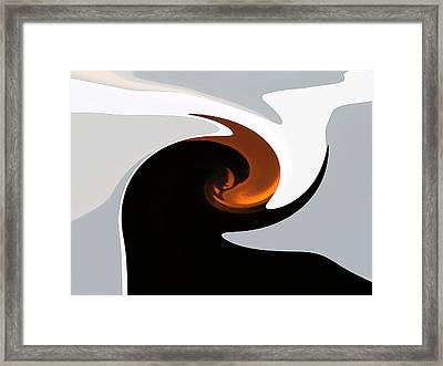 The Gift Of Light Framed Print by James Mancini Heath