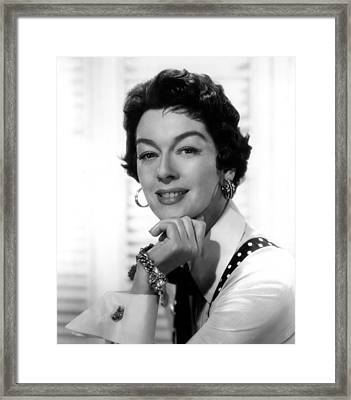 The Girl Rush, Rosalind Russell, 1955 Framed Print by Everett