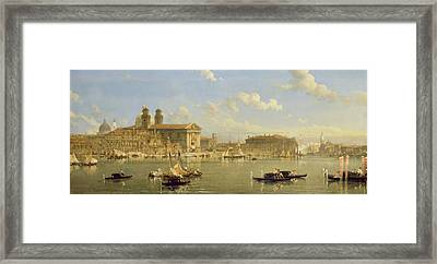 The Giudecca - Venice Framed Print by David Roberts
