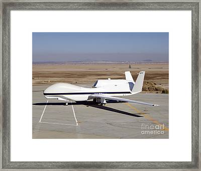 The Global Hawk Unmanned Aircraft Framed Print by Stocktrek Images