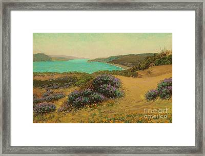 The Golden Gate Of San Francisco Framed Print by Pg Reproductions