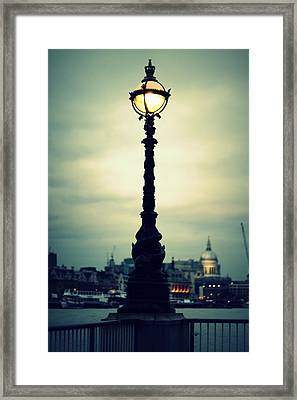 The Golden Globe Framed Print by Jacqui Collett