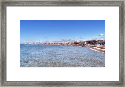 The Golden Mile Framed Print by Sarah Couzens