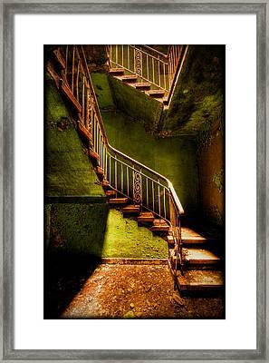 The Golden Stairway V Framed Print