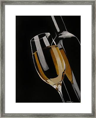 The Golden Years Framed Print