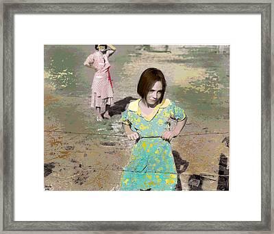 The Good Girl Framed Print
