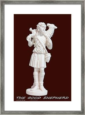 The Good Shepherd - 1 Framed Print by Carl Deaville