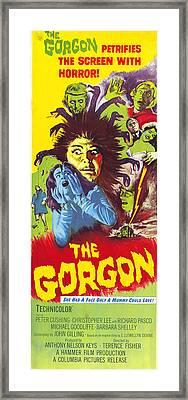 The Gorgon, 1964 Framed Print