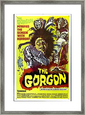 The Gorgon, Prudence Hyman Framed Print by Everett