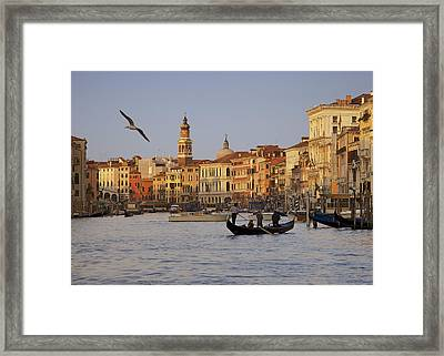 The Grand Canal Framed Print by Daniel Sands
