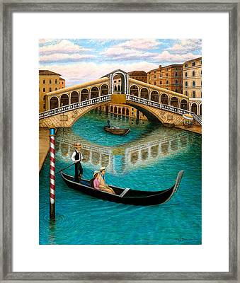 The Grand Canal Framed Print by Tracy Dennison