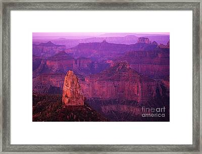 The Grand Canyon North Rim Framed Print by Bob Christopher