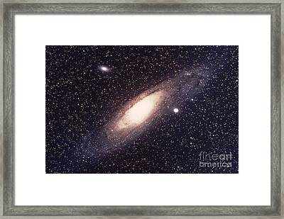 The Great Andromeda Galaxy Framed Print by Science Source