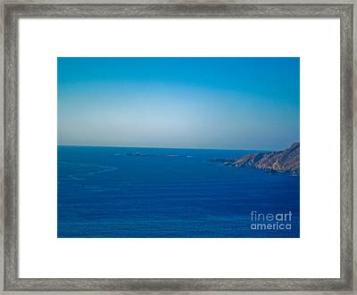 The Great Atlantic At Slieve League Framed Print by Black Sun Forge