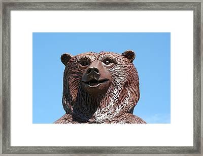 The Great Bear Framed Print by Alan Derber