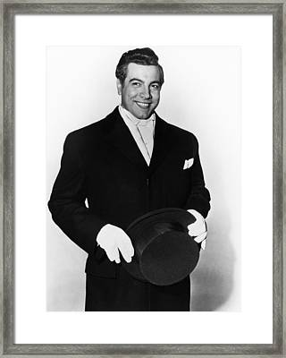 The Great Caruso, Mario Lanza, 1951 Framed Print