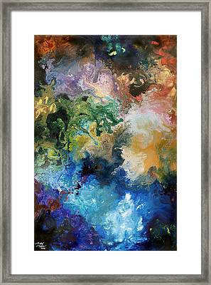 The Great Diversity Framed Print