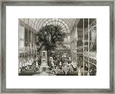 The Great Exhibition Of 1851, Hyde Park Framed Print by Science, Industry And Business Librarynew York Public Library