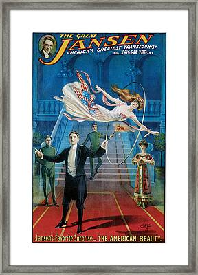 The Great Jansen Framed Print by Unknown
