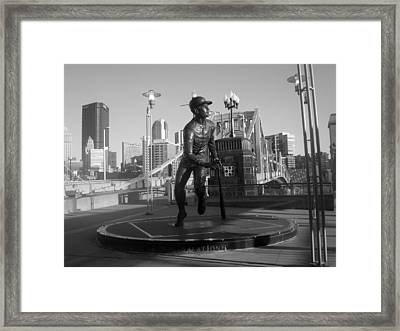 The Great One Framed Print by Deso Nellski