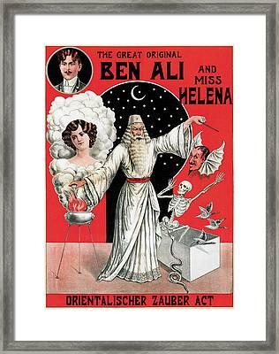 The Great Original Bel Ali Framed Print by Na