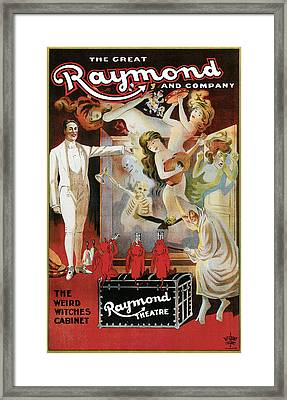The Great Raynond And Company Framed Print by Unknown
