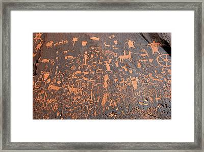 The Great Rock 1880 Framed Print by David Lee Thompson