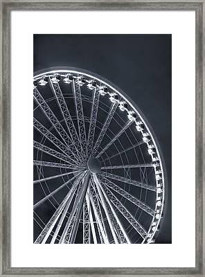 The Great Wheel Framed Print by Tanya Harrison
