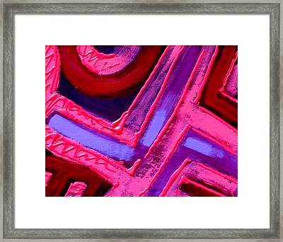 The Greater The Tension Framed Print