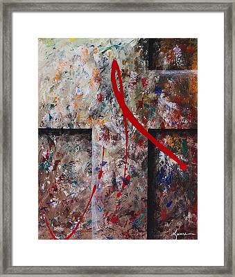 Framed Print featuring the painting The Greatest Love by Kume Bryant