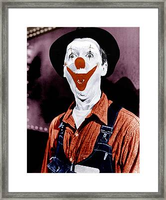 The Greatest Show On Earth, James Framed Print by Everett