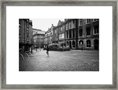 The Green Aberdeen Old Town City Centre Scotland Uk Framed Print by Joe Fox