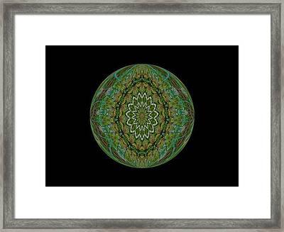 The Green Garden Framed Print by Yvette Pichette