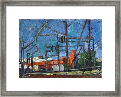 The Green Light Etude Framed Print