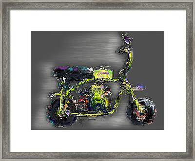 The Greene Meanie Framed Print by Russell Pierce