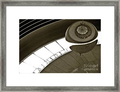 The Greenwich Observatory Ball Framed Print by Micah May