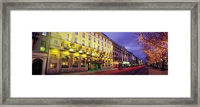 The Gresham Hotel Dublin, Oconnell Framed Print by The Irish Image Collection