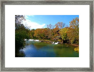 Framed Print featuring the photograph The Grist Big River by Peggy Franz
