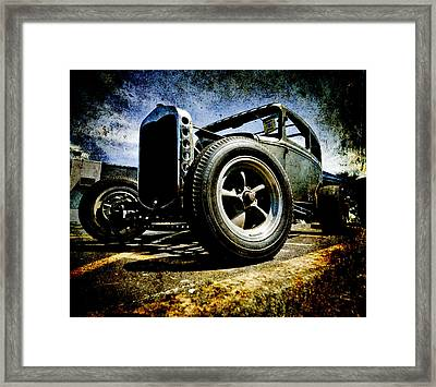 The Grunge Rod Framed Print by Phil 'motography' Clark