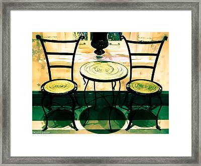 The Guest Framed Print by Kornrawiee Miu Miu