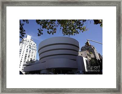 The Guggenheim Framed Print