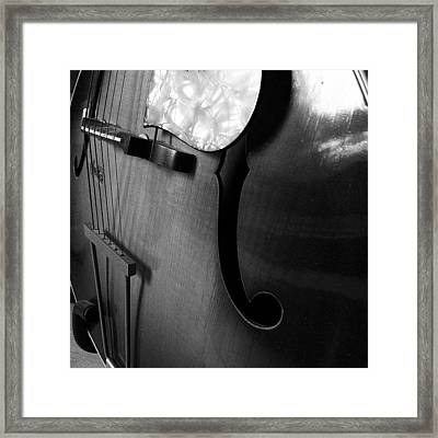 The Guitar Of My Grandpa Framed Print