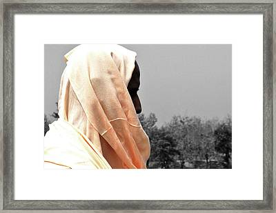The Guru Framed Print by Sumit Mehndiratta