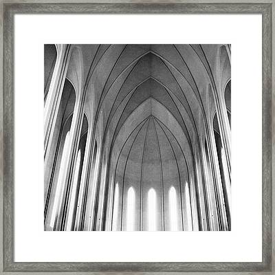 The Halls Of Valhalla Framed Print