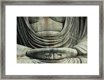 The Hands Of Diabutsu Framed Print