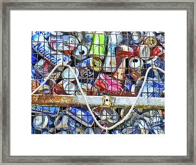 The Happy Canner Framed Print by Joe Jake Pratt