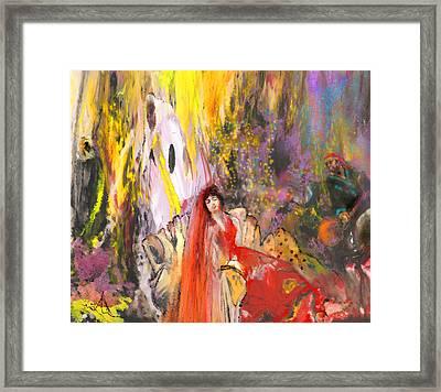 The Harem Framed Print