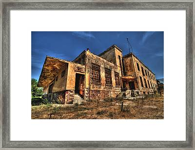 The Haunted Factory Framed Print by Stamatis Gr